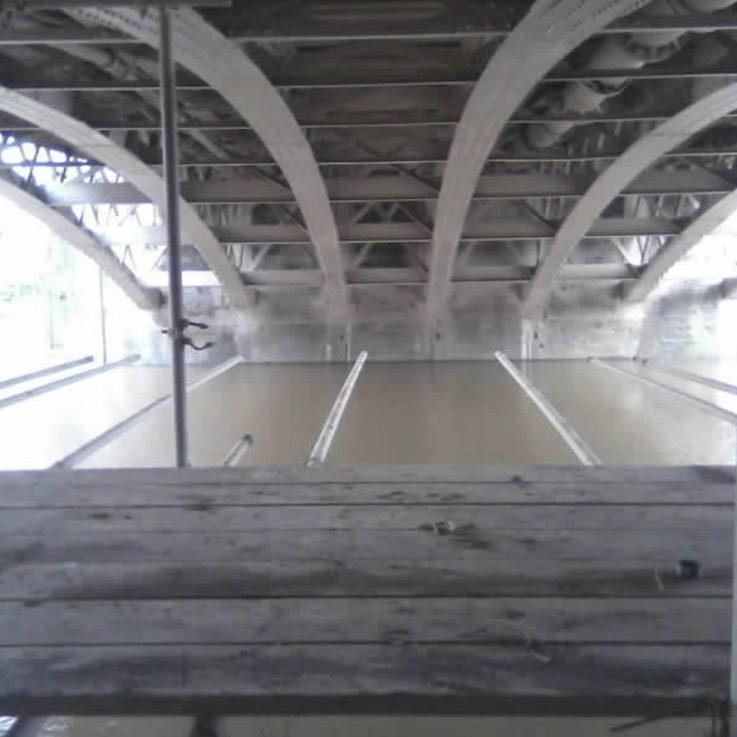 Bridgwater Bridge Underneath