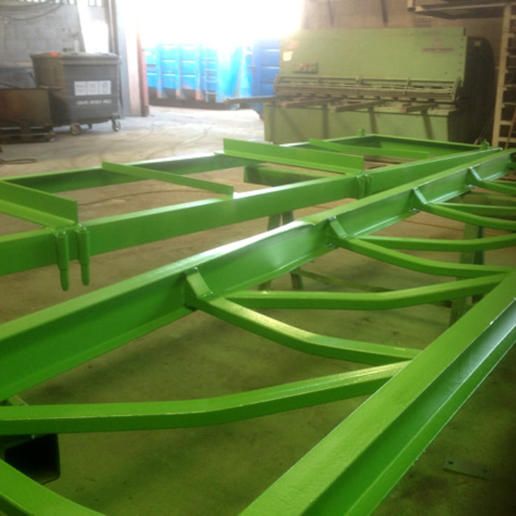 Powder Coating - Roller Coaster